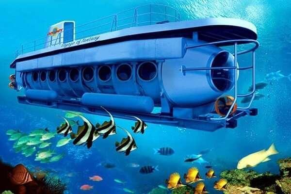 Underwater World ในเรือดำน้ำ