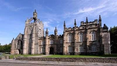 University of Aberdeen ประเทศ United Kingdom