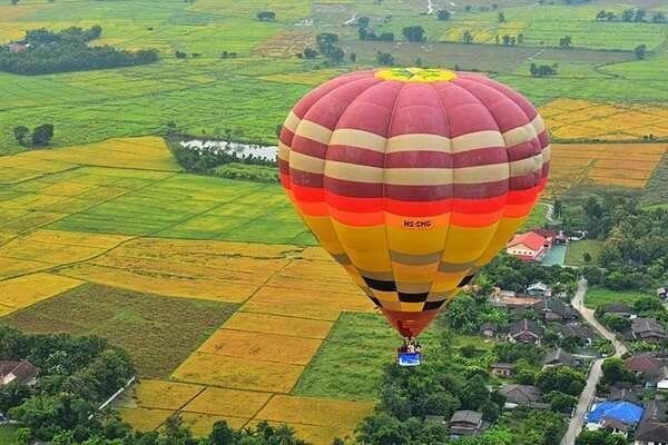ขึ้นบอลลูน Balloon Adventure Thailand