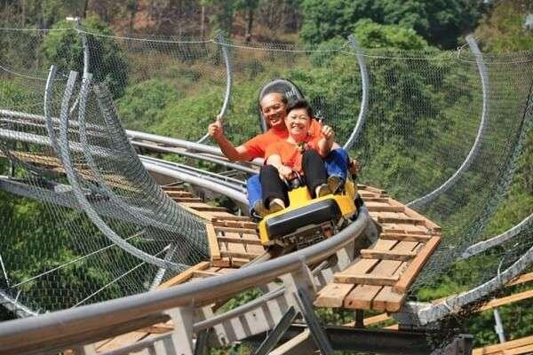 โป่งแยง ซิปไลน์ แอนด์ จังเกิ้ล โคสเตอร์ (Pongyang Jungle Coaster & Zipline)