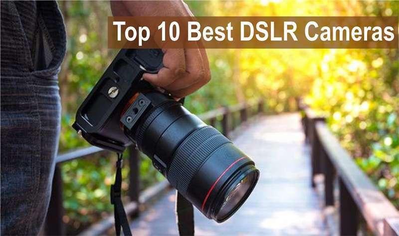 10 กล้อง DSLR เเละมิลเลอร์เลส ที่ดีที่สุดแห่งปี 2020