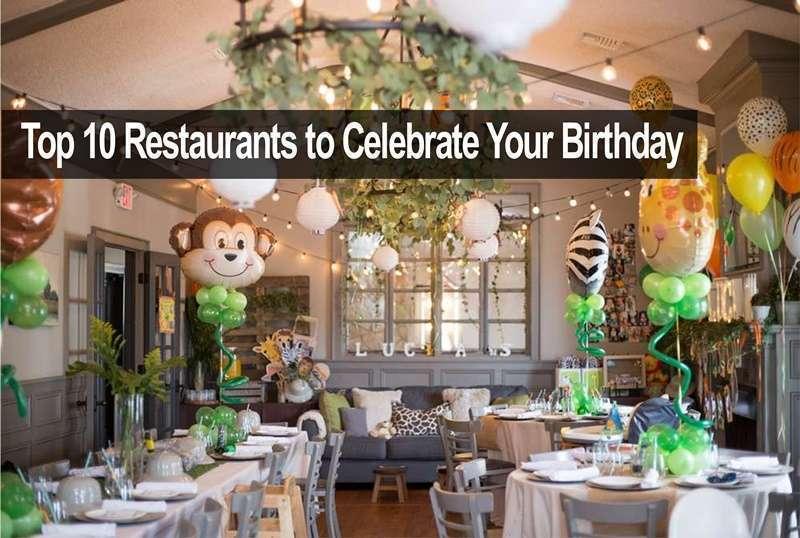 คุณวางแผนจัดงานวันเกิดที่ร้านอาหารอย่างไร
