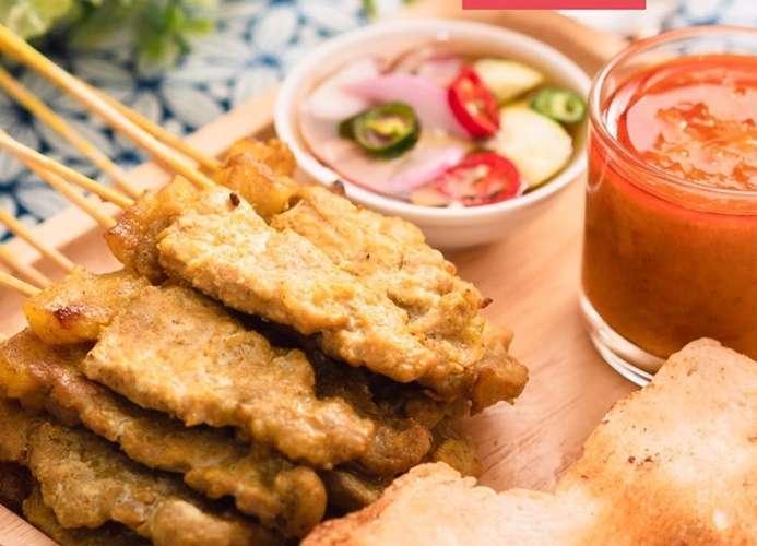 ร้านอาหารไทยที่ดีที่สุดในสะเต๊ะ