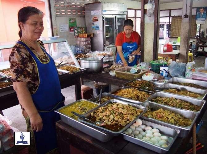 ร้านอาหารไทยที่ทำในกรุงเทพที่ดีที่สุด