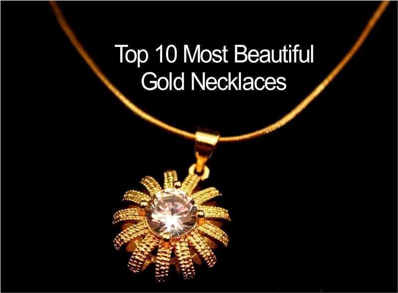 สร้อยคอทองที่สวยที่สุดในปี 2020