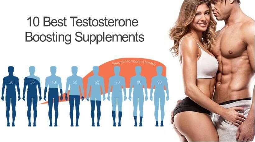 10 อาหารเสริมฮอร์โมนเพศชาย เพิ่มความเร่าร้อนสำหรับกิจกรรมบนเตียง