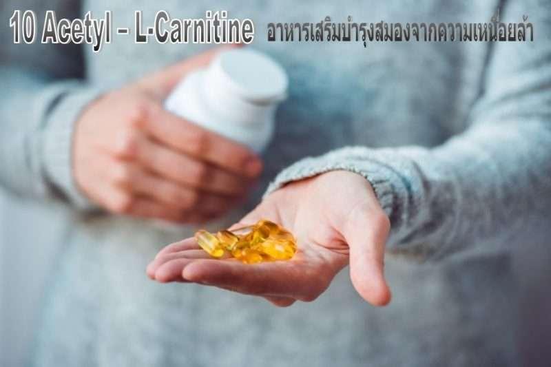 ทำความรู้จักกับ 10 Acetyl – L-Carnitine อาหารเสริมบำรุงสมองจากความเหนื่อยล้า [wpsm_custom_meta type=date field=year] 1