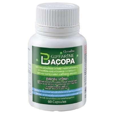 อยากความจำดีต้องลอง10 ผลิตภัณฑ์เสริมอาหาร bacopa สมุนไพรบำรุงสมองให้แข็งแรง 3