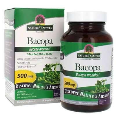 อยากความจำดีต้องลอง10 ผลิตภัณฑ์เสริมอาหาร bacopa สมุนไพรบำรุงสมองให้แข็งแรง 7