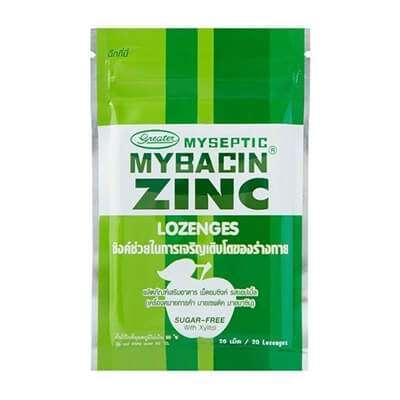 10 Zinc ผลิตภัณฑ์เสริมอาหาร ตัวช่วยบำรุงร่างกาย ฟื้นฟูผิวให้สวยจากภายในสู่ภายนอก [wpsm_custom_meta type=date field=year] 5