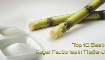 10 โรงงานผลิตน้ำตาลที่เยี่ยมในประเทศไทย