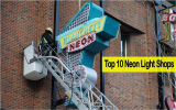 10 ร้านติดตั้งไฟนีออนที่ดีที่สุดในกรุงเทพฯ