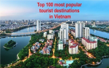 100 อันดับสถานที่ท่องเที่ยวยอดนิยมในเวียดนาม