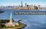 100 อันดับสถานที่ยอดนิยมที่สุดในอเมริกา